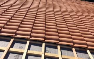 tetto isolato e ventilato